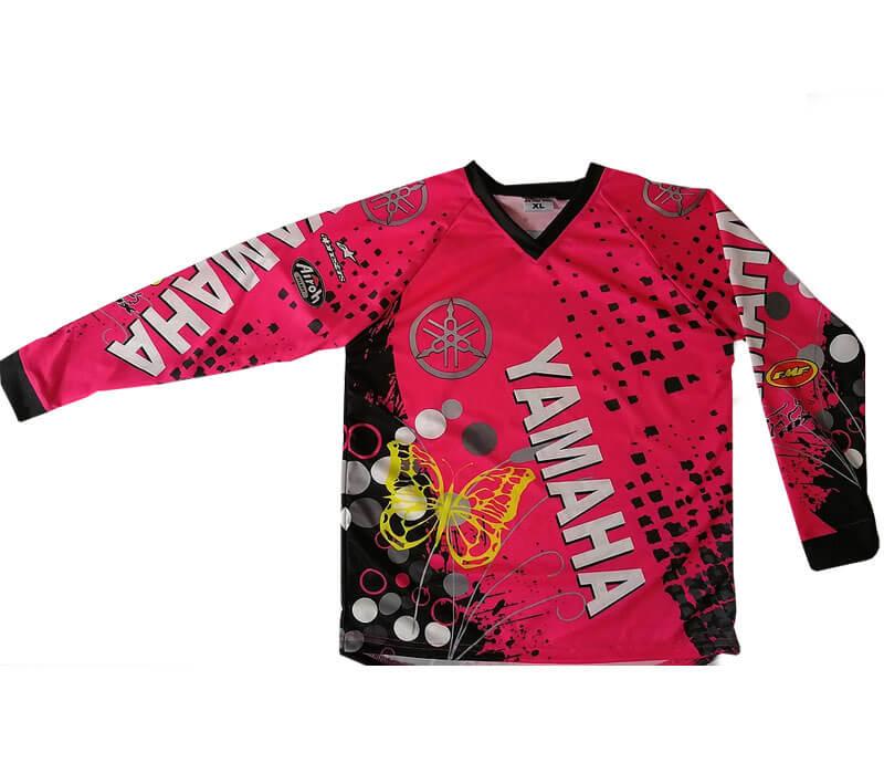 pink Yamaha mx graphic kit for girls